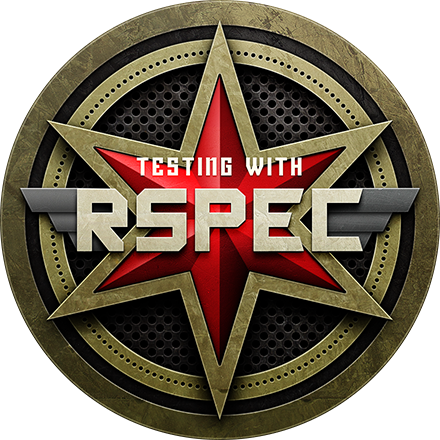 Testing with RSpec Completion Badge