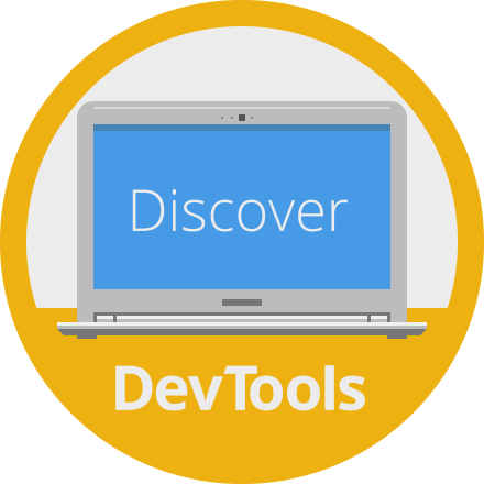 Discover DevTools badge