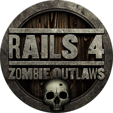 Rails 4: Zombie Outlaws badge