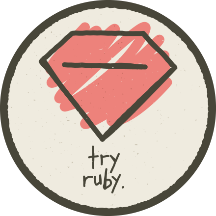 Try Ruby Completion Badge