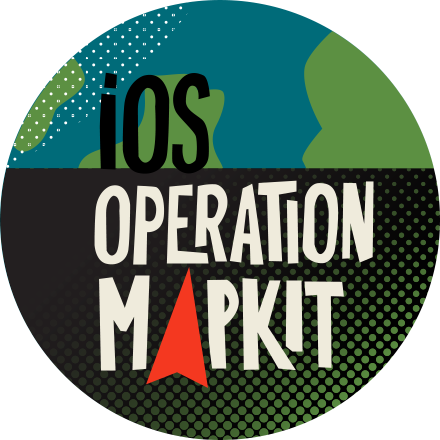 iOS Operation: MapKit badge