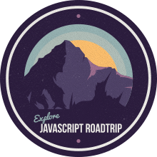 JavaScript carretera Parte viaje 1 Finalización Badge