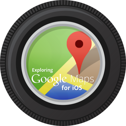 Exploring Google Maps for iOS badge