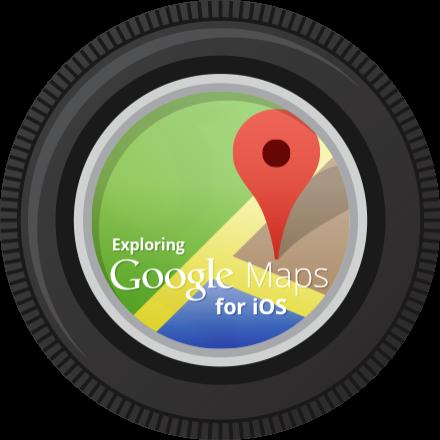 Exploración de Google Maps para iOS Finalización Insignia