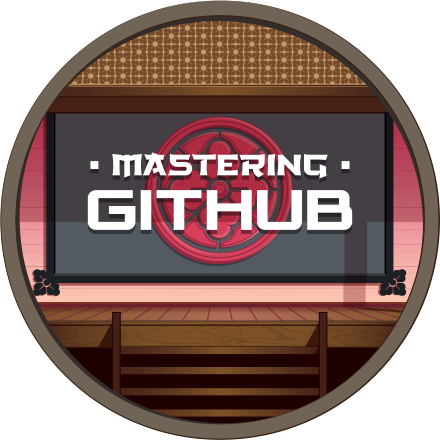 Badge for Completion of Mastering Github