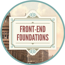 Front-end Foundations badge