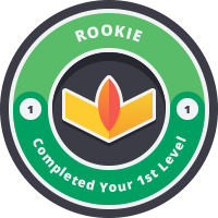Rookie Badge