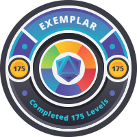 Exemplar Badge