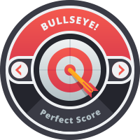 Bullseye Badge