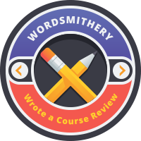 Wordsmithery Badge