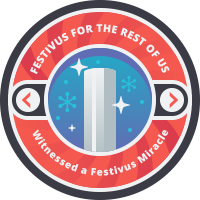 Festivus for the Rest of Us Badge