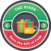 The Giver Badge