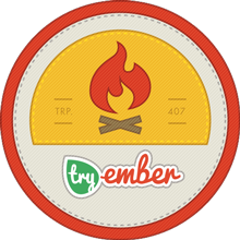 Try Ember Completion Badge