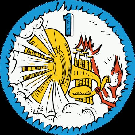Level 1 You, Me & SVG Badge
