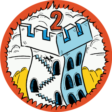 Level 2 You, Me & SVG Badge