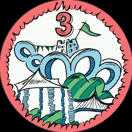 Level 3 You, Me & SVG Badge