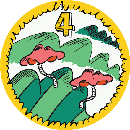 Level 4 You, Me & SVG Badge