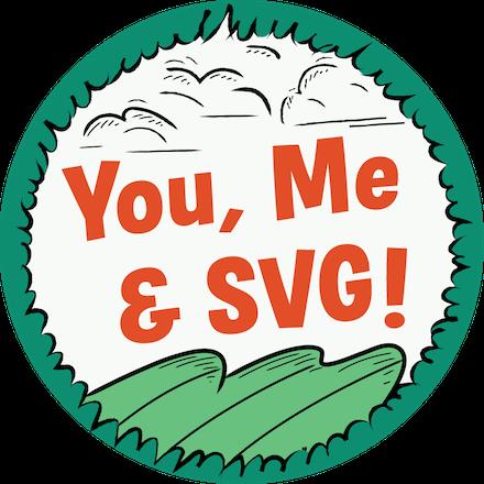 You, Me & SVG Achievement Badge
