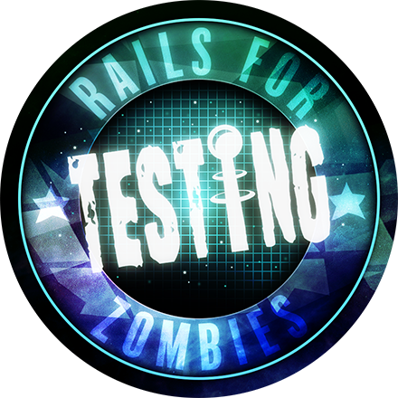 Rails Testing for Zombies badge