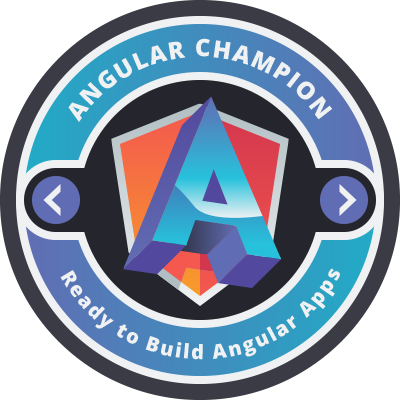 Angular Champion Badge