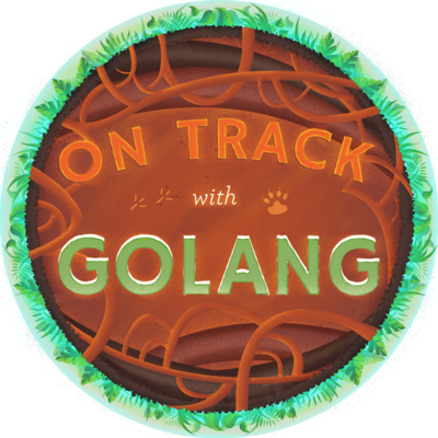 On Track With Golang Completion Badge