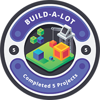 Build-A-Lot Badge