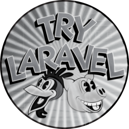 Try Laravel Completion Badge