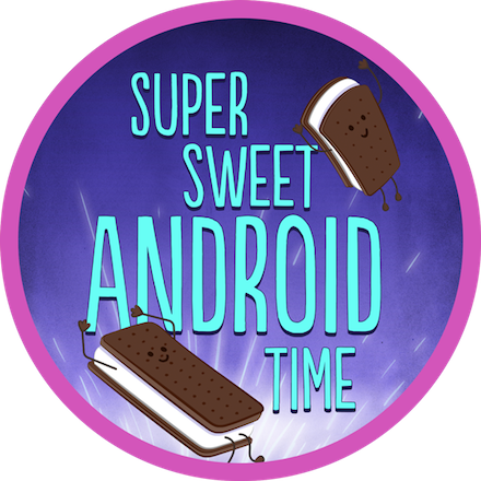 Super Sweet Android Time Completion Badge