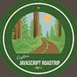 JavaScript Road Trip Part 3 Completion Badge