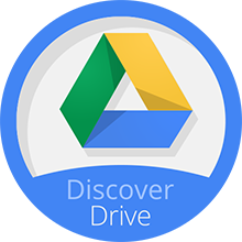 Discover Drive Completion Badge
