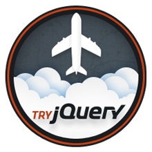 Try jQuery Completion Badge