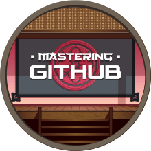 Mastering GitHub Completion Badge
